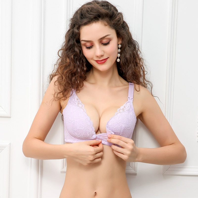 ZTOV Breastfeeding Maternity Nursing Bras for Feeding Cotton Sleep Bra Clothes for Pregnant Women Pregnancy Underwear Clothing