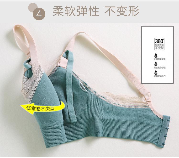 Breastfeeding Maternity Nursing Bra pregnant women bra baby feeding underwear lace