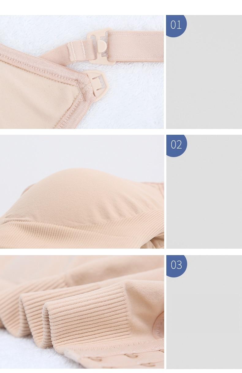 Maternity nursing bra breastfeeding bra pregnant women underwear maternity lace bra