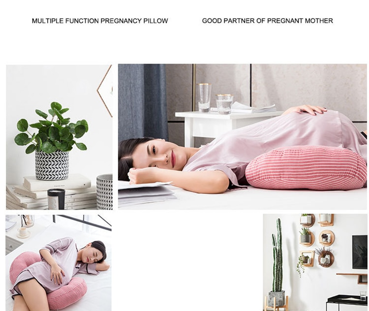 Pregnant Position Pillow Maternity Pillow for Pregnant Cushion Maternity Breastfeeding Pillow Mom Sleep Positioner for New Mom