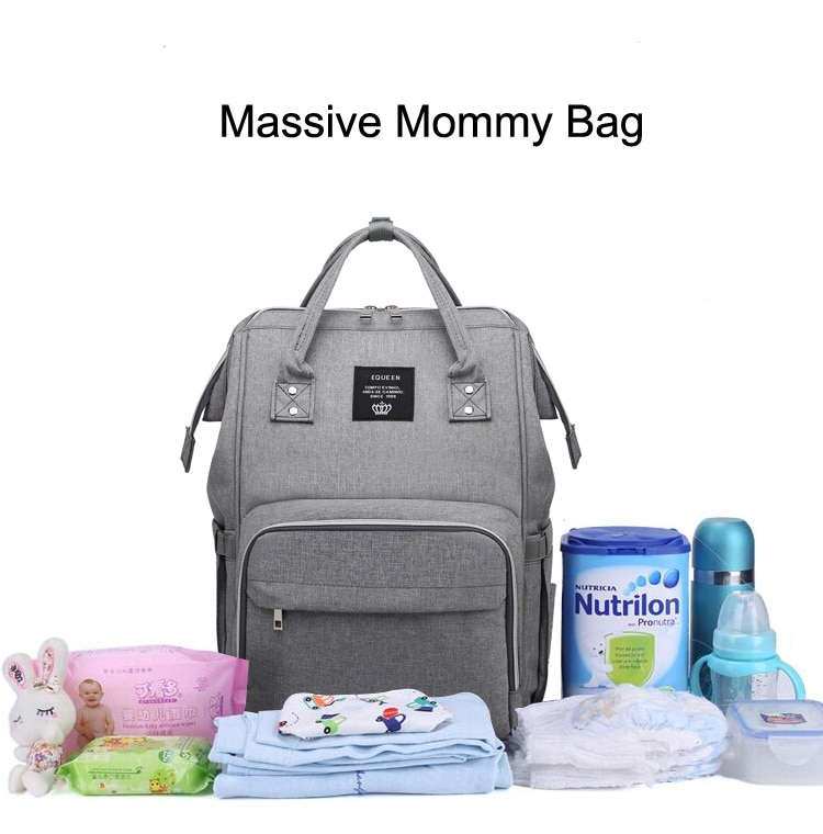Mummy bag USB Diaper Bag Baby Care Large Capacity Mom Backpack Mummy Maternity Wet Bag Waterproof Baby Pregnant Bag