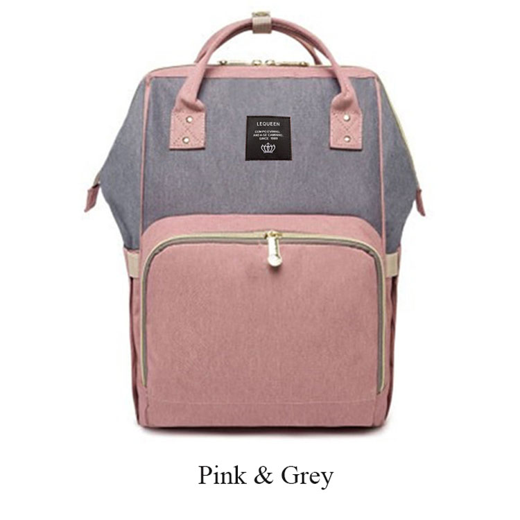 Pink and Grey