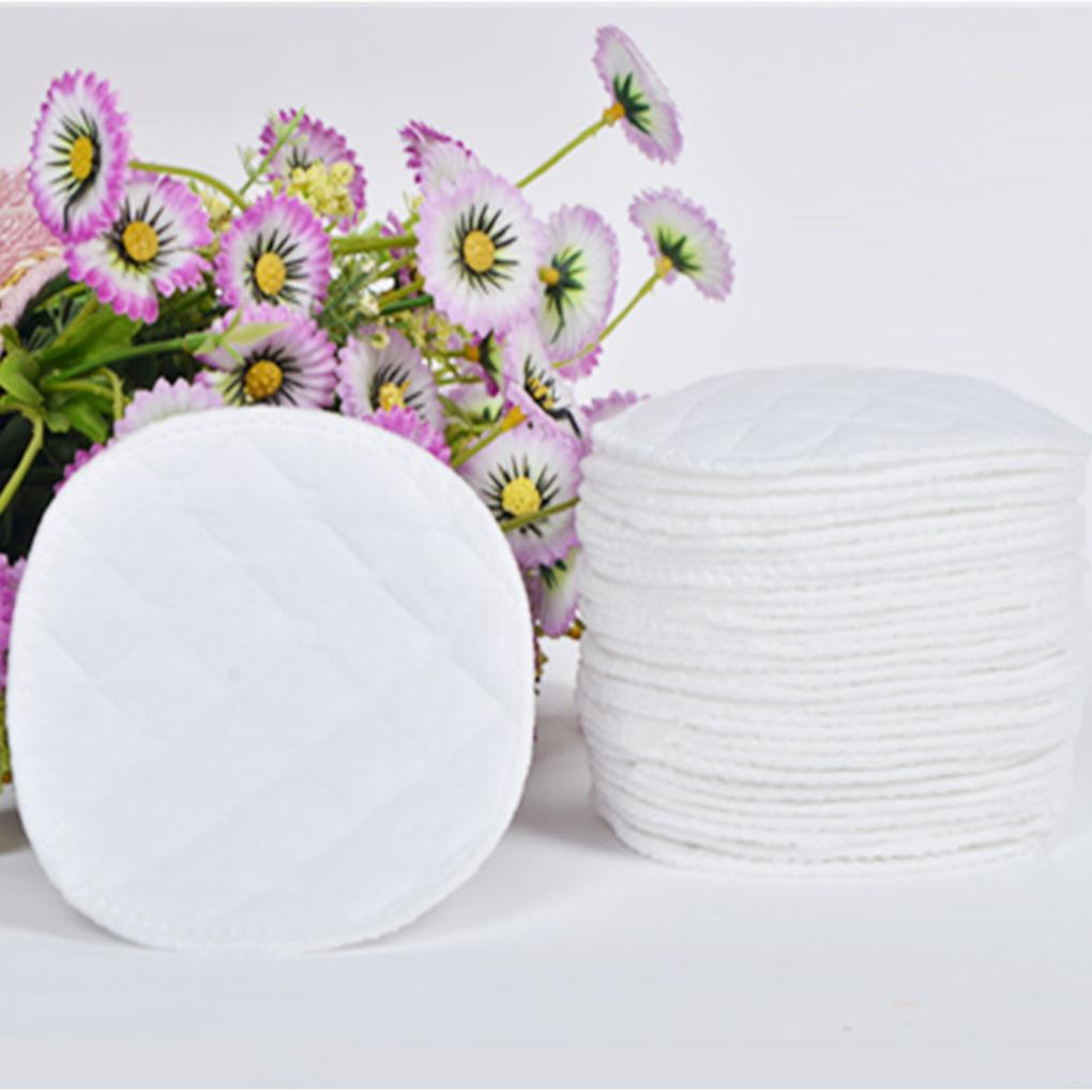 10pcs Three Layers of Ecological Cotton Washable Breastfeeding Pads Nursing Pads Baby Breastfeeding Maternity Mommy