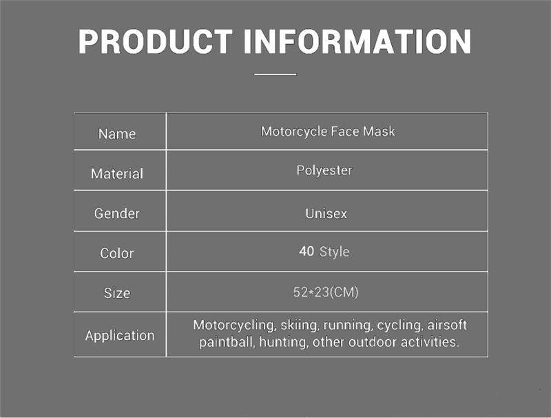 New Trend Motorcycle Windproof Bandana Scarf Magic Multifunctional Half Face Mask Balaclavas Snowboard Neck Triangle Scarf Hats