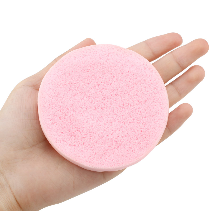 12Pcs/Bag Compression Puff Cleansing Sponge Eyelash Sponge Remove Makeup Skin Care Facial Cleanser Washing Pad Remove