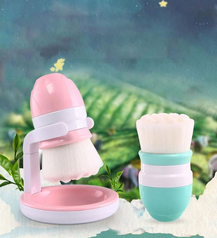 Mini Face Cleansing Brush Manual Face Cleanser Skin Pore Cleaner Deep Washing  Facial Beauty Massager Wash Face Machine Brush