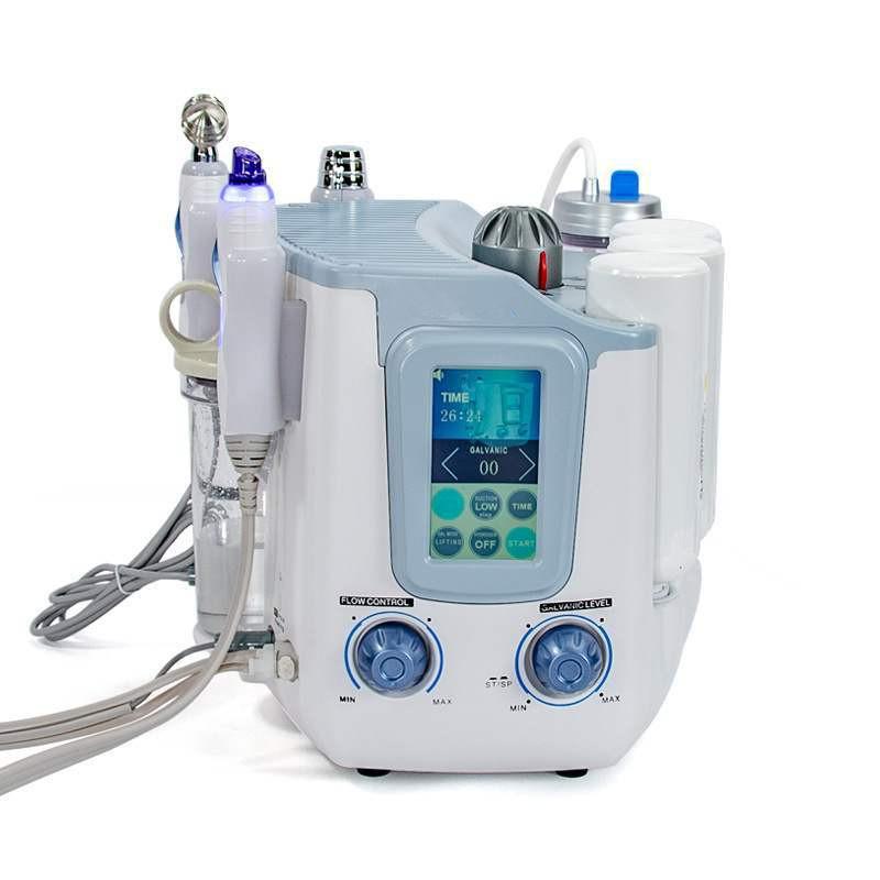 foyying Hot 3 In 1 Hydro Water Oxygen Jet Peeling Face Deep Cleaning Machine H2 O2 Aqua Small Bubble Skin Rejuvenation Beauty De