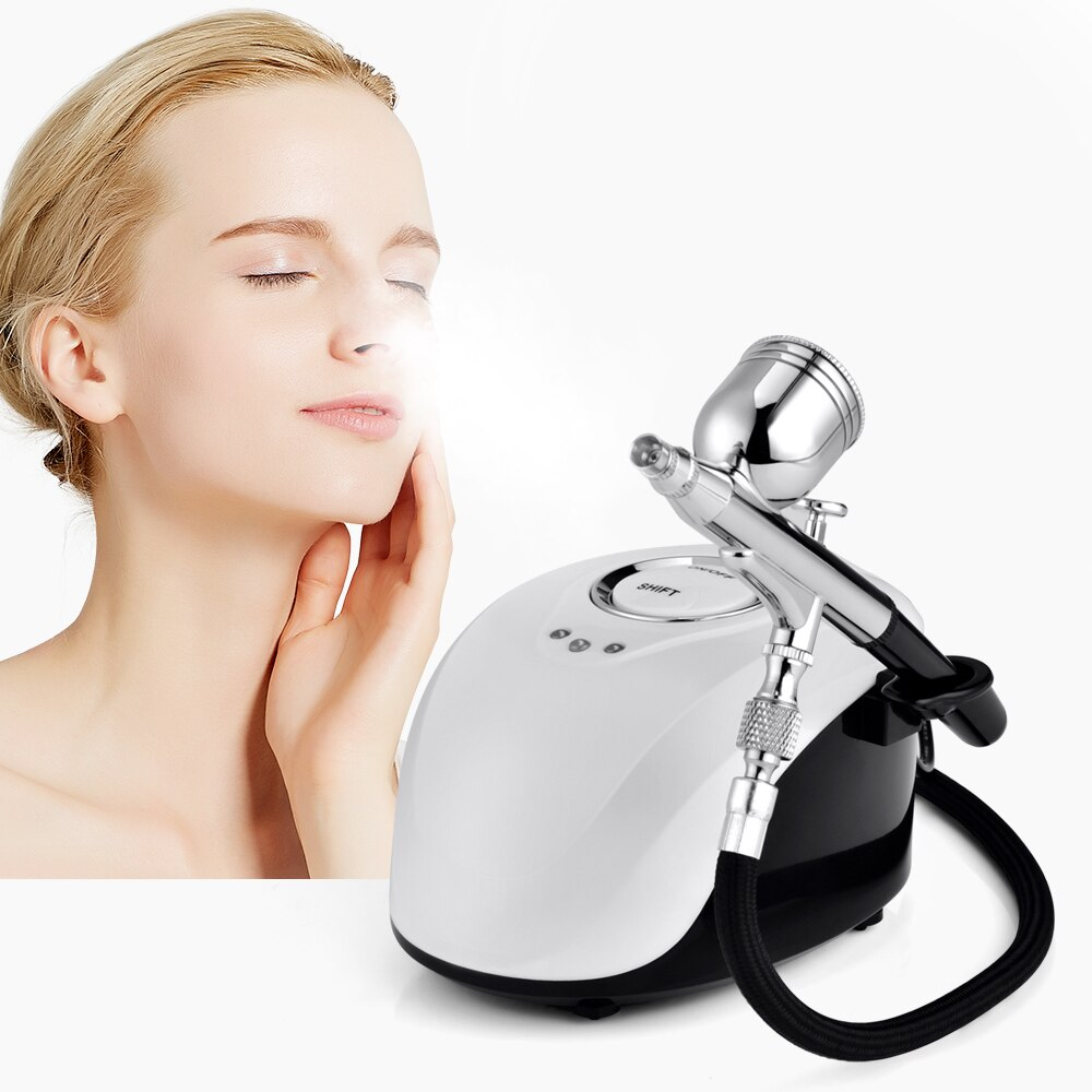 Water Oxygen Facial Machine Injection Therapy Sprayer Machine Moisture Nano Meter SPA Beauty Equipment Tools Hydro Skin Care