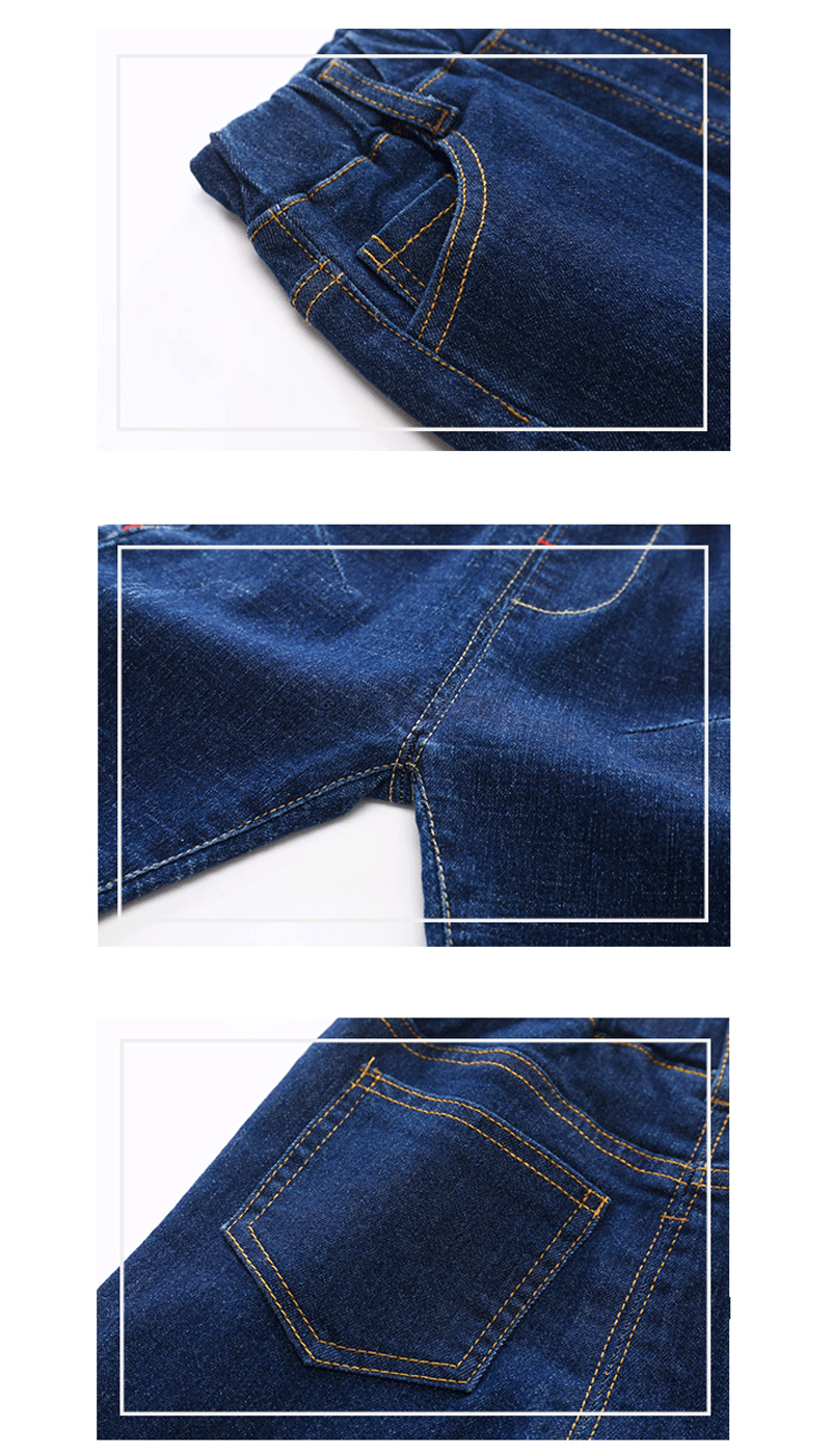 2020 new Boys girl Jeans pants Excellent quality cotton casual children Trousers baby toddler Comfortable kids clothes clothing