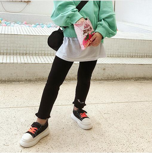 2019 spring and autumn kids clothing casual jeans pants, Children's Clothing Baby Girls Denim Pencil Pants Girls' jeans