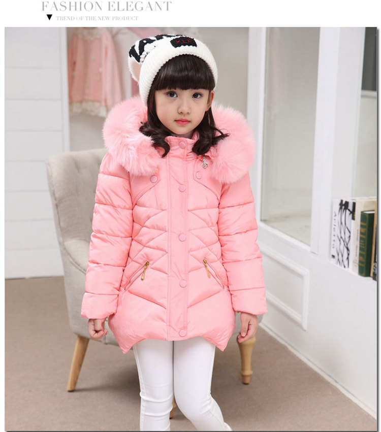 Girls Clothing Baby Coats for Girls Warm Jackets For Spring Autumn Kids Girls Solid Hoodie Coat Cute Warm Girls' long coat