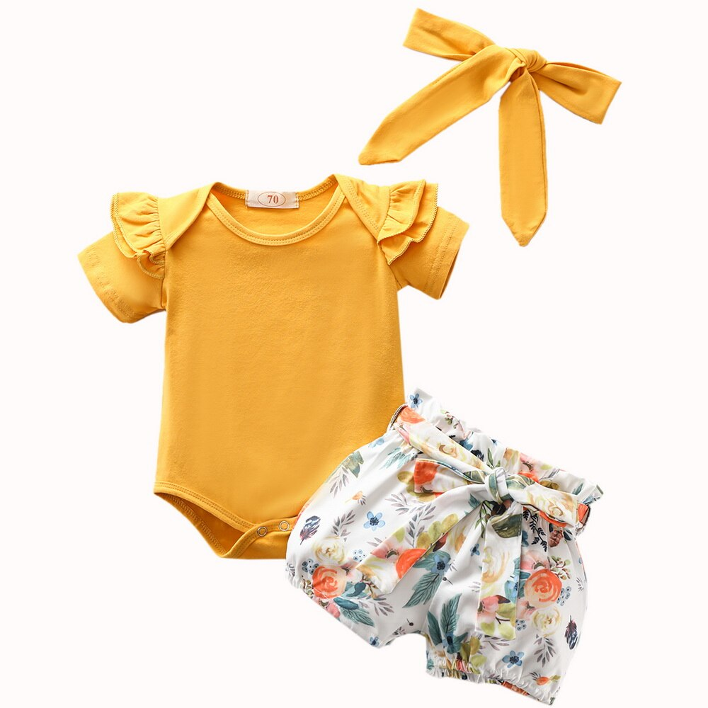204146 Short yellow