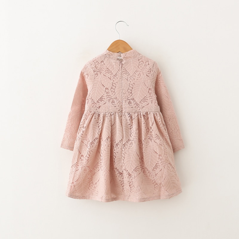 Humor Bear Baby Girls Dresses 2020 New Summer A-Line Lace Lolita Style Princess Dress Children's clothes Party Dress