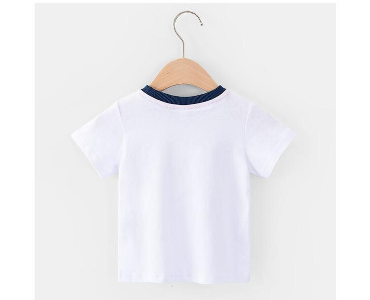 2020 Summer Kid Clothes Jersey T-shirt Boys And Girls Tshirt Short Sleeve Baby Tops Children Clothes