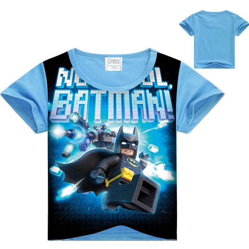 2017 Summer Kids Boys T-shirt Ninjago T Shirts Children Clothing Cotton Top Tees Boys Girls Kids Costume Boys Clothes 3-10y