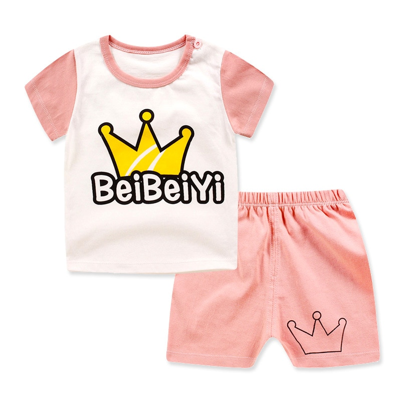 Unini-yun 1 2 3 4 Year Boys Clothes 2018 New Cotton Casual Kids Outfits Star Shirts Stripe Pants 2pcs Baby Children Clothing Set
