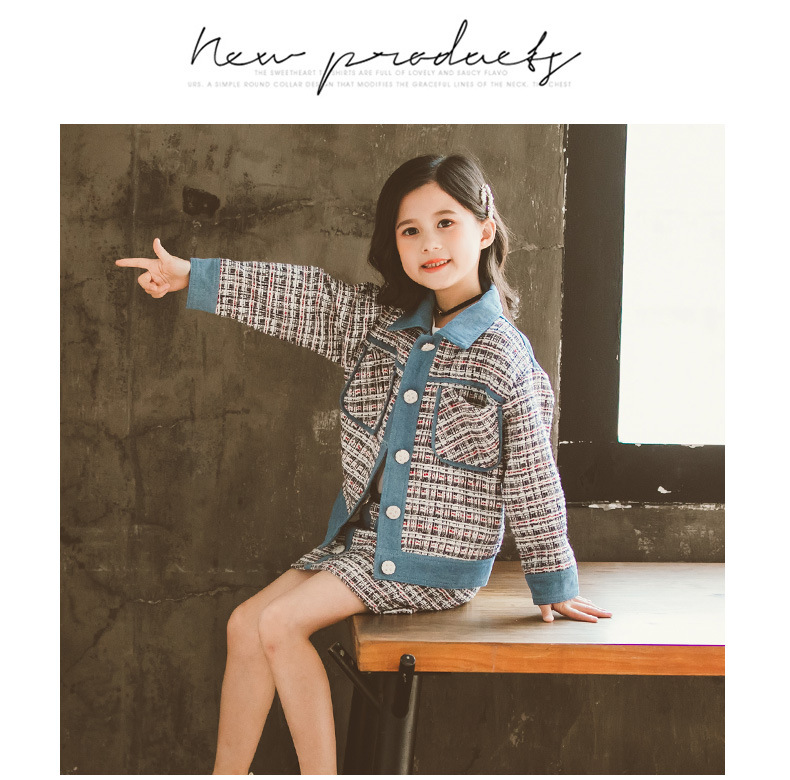 Teen Girls Clothing Set Kids Clothes Jackets Skirt Suit Children Costume 2020 Spring Autumn School Girls Outfits 6 8 10 12 Year