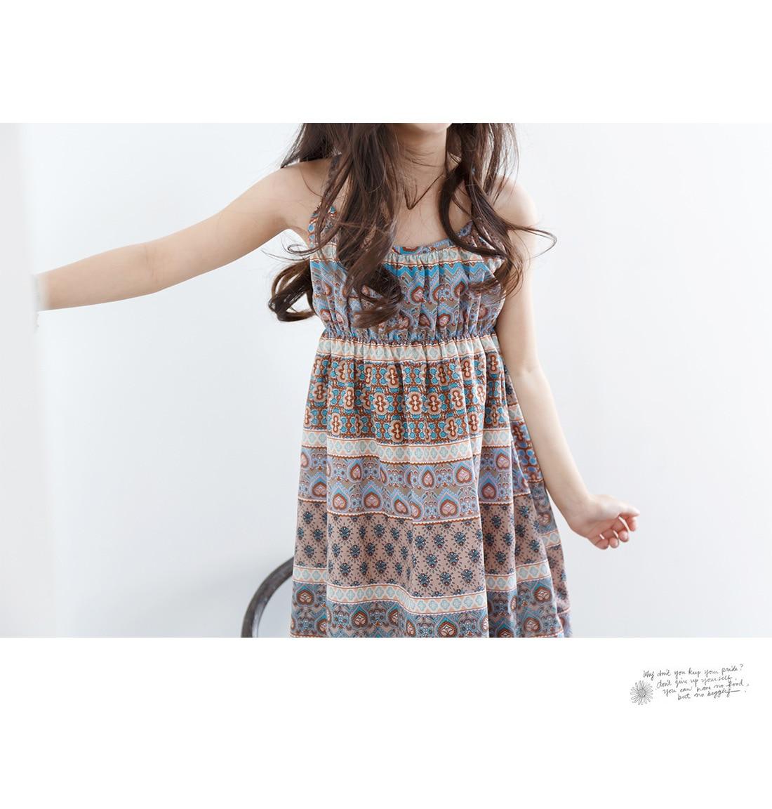 Big Girls Dress Summer Floral Teens Dresses Beach Off Shoulder Kids Clothes Chiffon Children Clothing For Girls 4 6 8 10 12 14