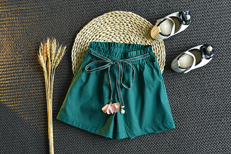 Girls summer clothing sets kids fashion party clothing children cotton print tops+shorts 2pcs suits outfits for girls clothes