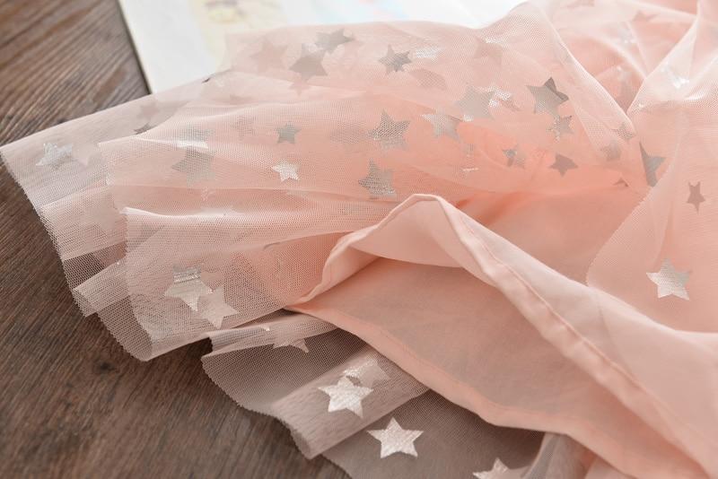 Humor Bear Girls Dress 2020 NEW Summer Wedding  Sweet Princess Birthday  Party Dress Fashion Toddler Baby Kids Girls Clothing
