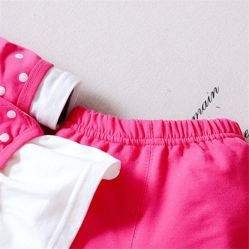 BibiCola 2020 new Spring Autumn Children Girl Clothing Set Baby Girls Sports Dots Suit Toddler Babies Clothes Outfits Tracksuit
