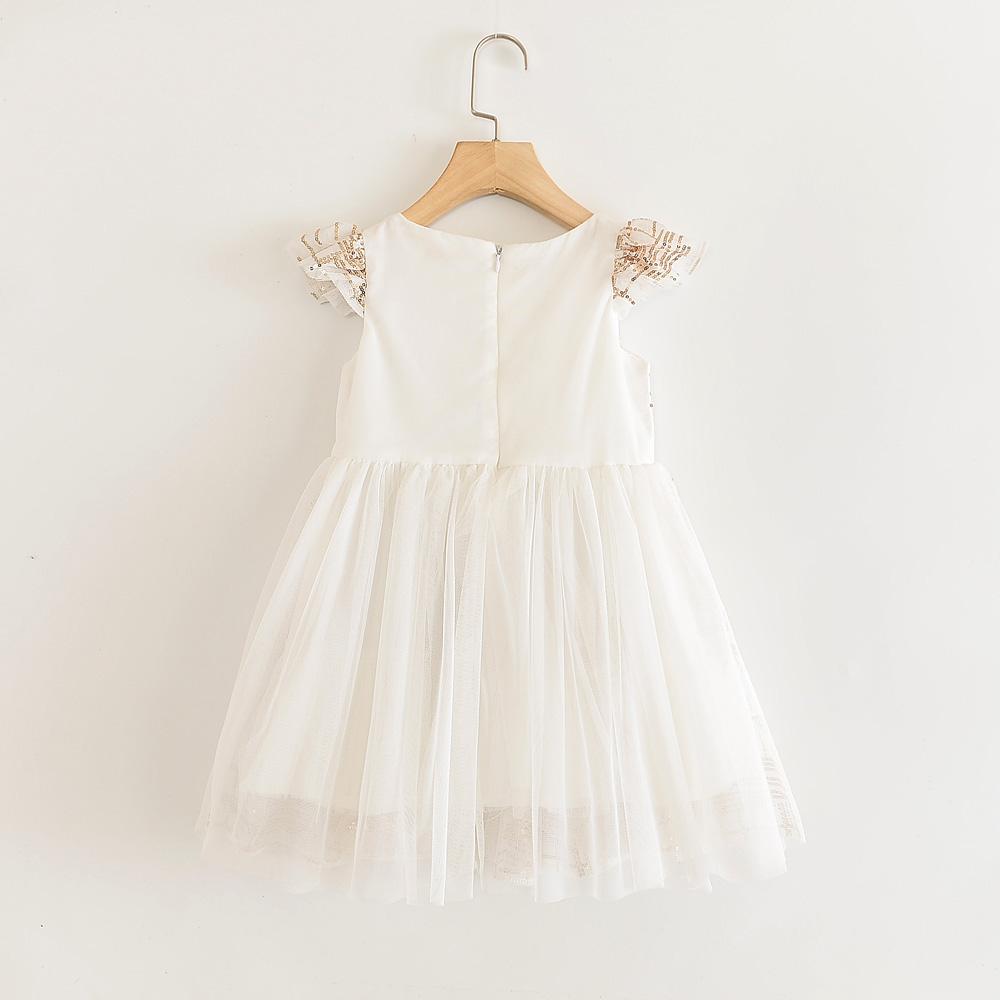 Humor Bear Girls Dress 2020 Summer New Style Princess Dress Openwork Embroidered Dress Cute Vest Dress Girls Clothing