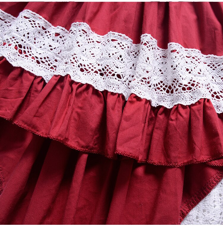 EACHIN Girls Dresses Baby Gril's Irregular Fishtail Dress Lace Patchwork Children's Fashion Wedding Party Tutu Girl Clothing
