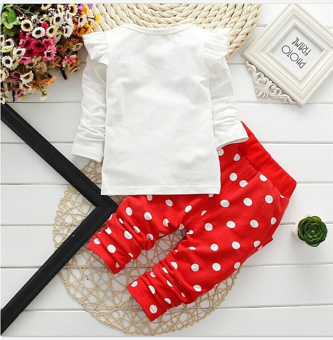 2019 Baby Girls Clothes Sets Children Clothing Toddler Girl Tracksuits Sport Suit Kids T-shirt +Vest Pullover And Pants Set 3Pcs