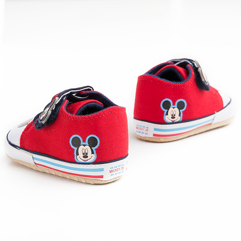 Disney 0-18M Baby Sneakers Toddler Boy First Walkers Girl Newborn Baby Shoes Boy Fashion cartoon Mickey Shoes