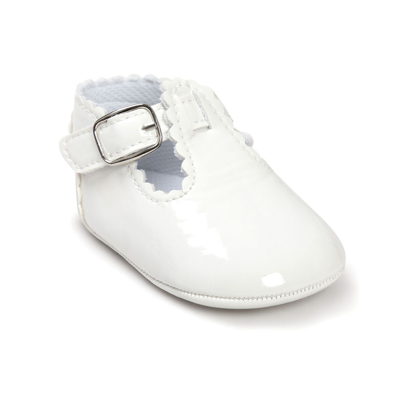 12 Color Fashion Baby Girls Baby Shoes Cute Newborn First Walker Shoes Infant Letter Princess Soft Sole Bottom Anti-slip Shoes
