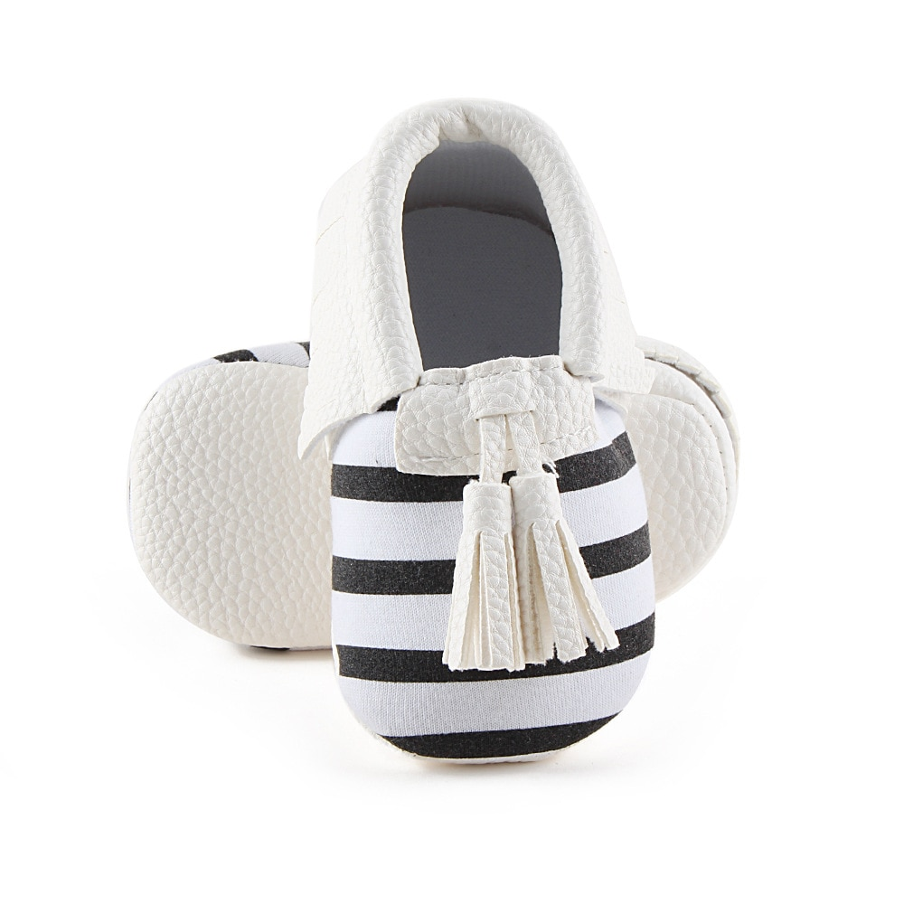 Factory Cheaper Price Baby Shoes Strip Tassel Infant Toddler Baby Spring/Autumn Shoes