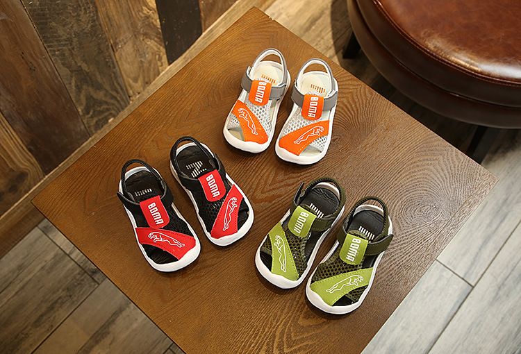 Orthopedic Sport Pu Leather Baby Boys Sandals Brand Open Toe Toddler Boys Sandals Summer New Kids Shoes Sandals for Boys