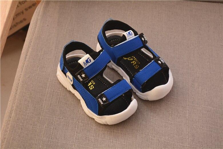 2020 Summer Children Shoes Boys Soft Soles Beach Shoes Male Baby Baotou Anti-kick Children's Sandals Princepard Summer Sandals