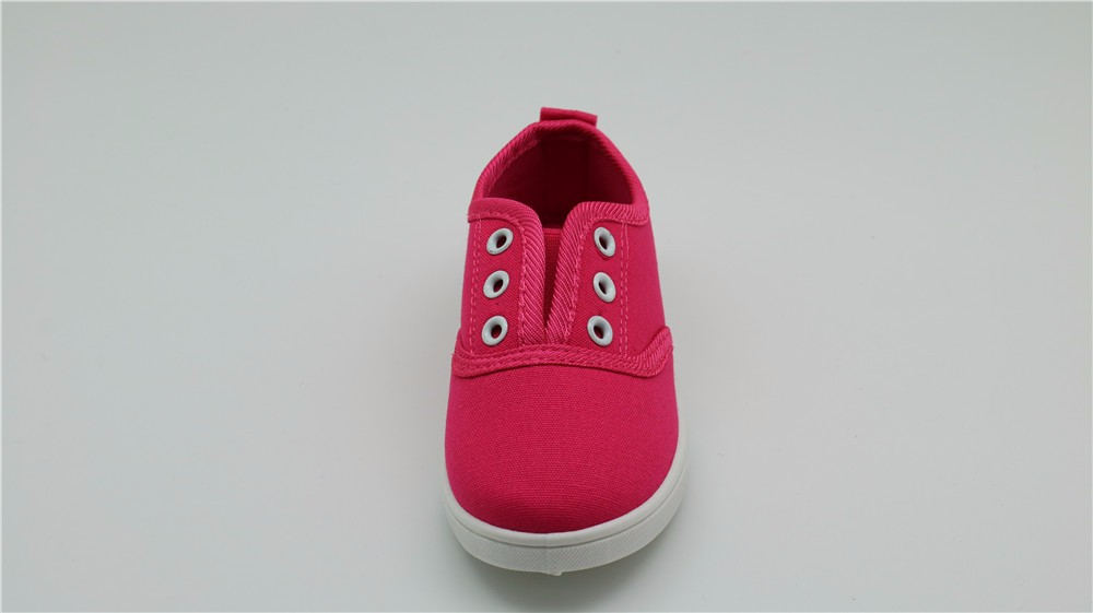 Apakowa Spring Autumn Kids Canvas Shoes Toddler Baby Boys and Girls Low Top Sports Sneakers Children Slip on Flats Casual Shoes