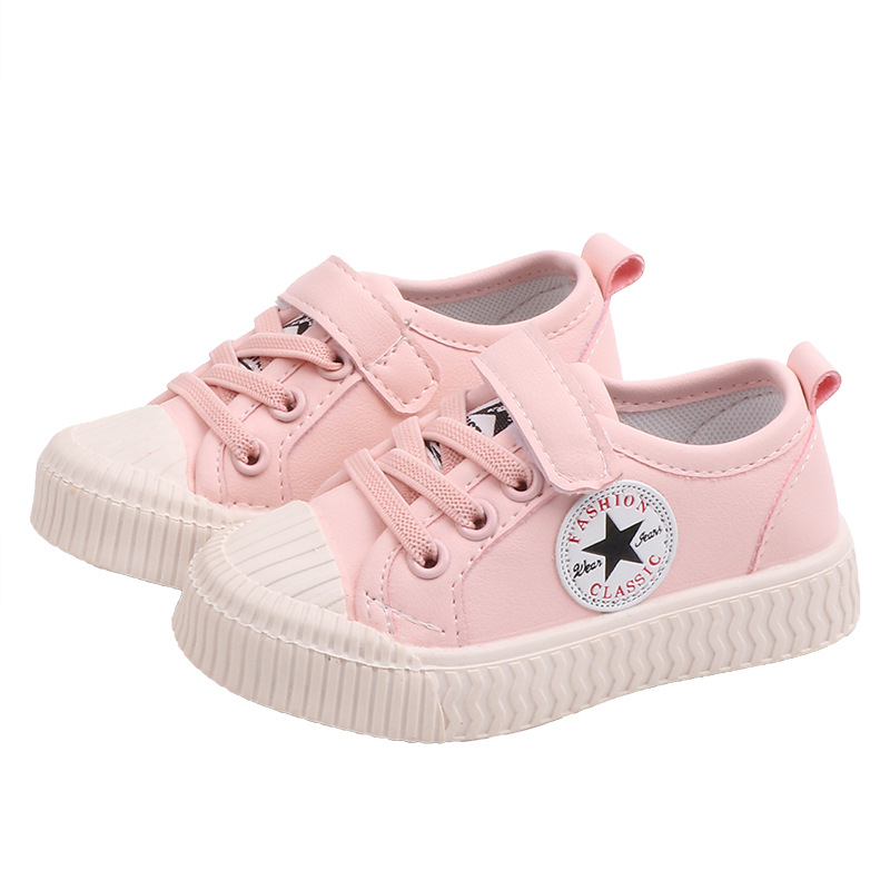 Kids Shoes Girls Casual Shoes Sneakers Spring Summer Children Boys Flat Shoes Rubber Sole Star Shoes Baby Tenis Infantil C07043