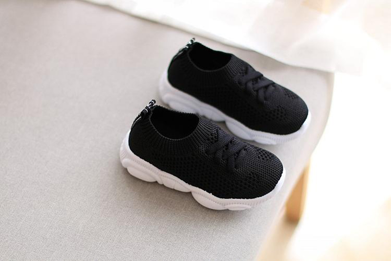 Sneakers Kids Shoes Antislip Soft Bottom Baby Sneaker 2020 Casual Flat Sneakers Shoes Children size Girls Boys Sports Shoes