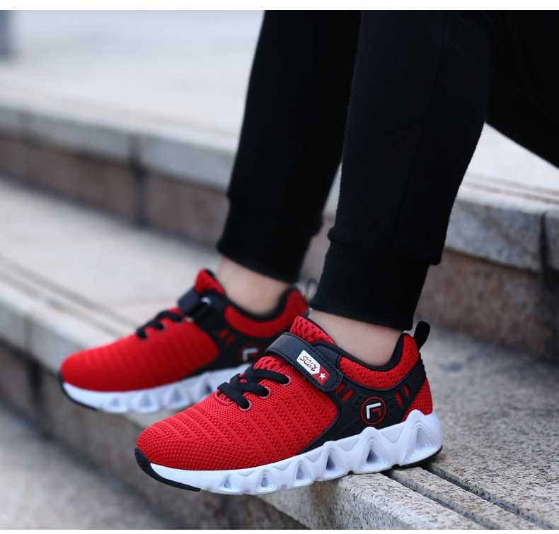 2020 Spring Autumn Brand Children Shoes Non-slip Kids Running Shoes Boys Fashion Breathable Sneakers Girls Casual Sports Shoes