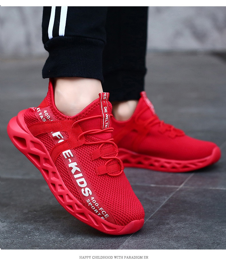 Spring Summer Children Shoes New Arrival Kids Comfortable Sneakers Girl Fashion Breathable Running Shoes Boys Casual Sport Shoes