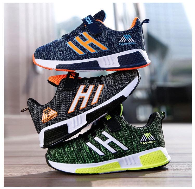2020 New Brand Children Shoes Outdoor Sports Shoes For Kid Newest Design Indoor Anti-slip Sneakers Boys Girls Casual Shoes