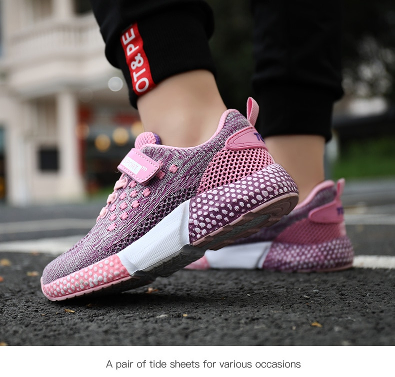 2020 Spring Summer Children Shoes Girls Boys Fashion Sneakers Comfortable Kids Sports Shoes Breathable Casual Mesh shoes