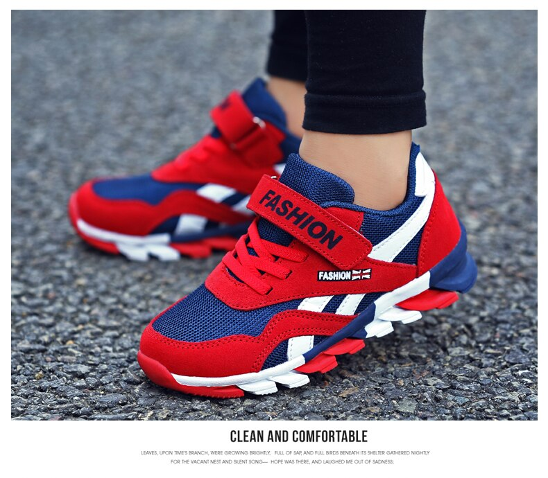 2020 Spring Autumn Boys Shoes Fashion Brand Children Shoes Training Breathable Kids Sneaker Outdoor Sports Casual Boy Shoes