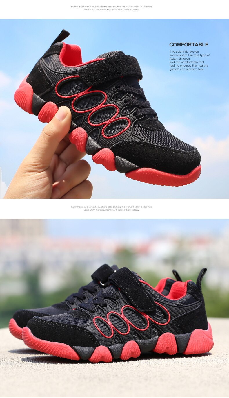 2020 Children shoes girls boys casual sports shoes fashion sneakers breathable kids running shoes comfortable outdoor shoes