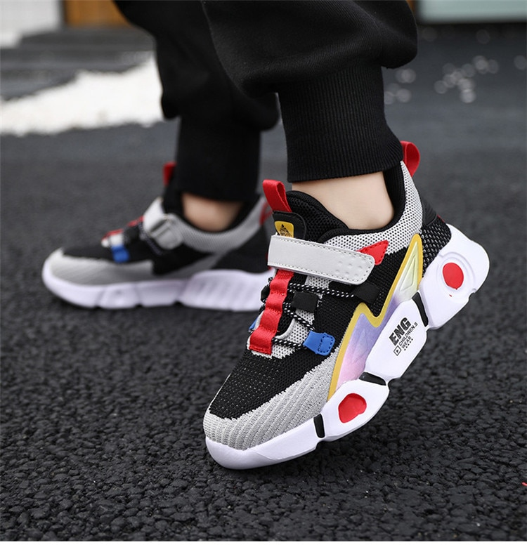 2020 New Kids Sport Shoes For Boys Sneakers Girls Fashion Spring Casual Children Shoes Boy Running Child Shoes Chaussure Enfant