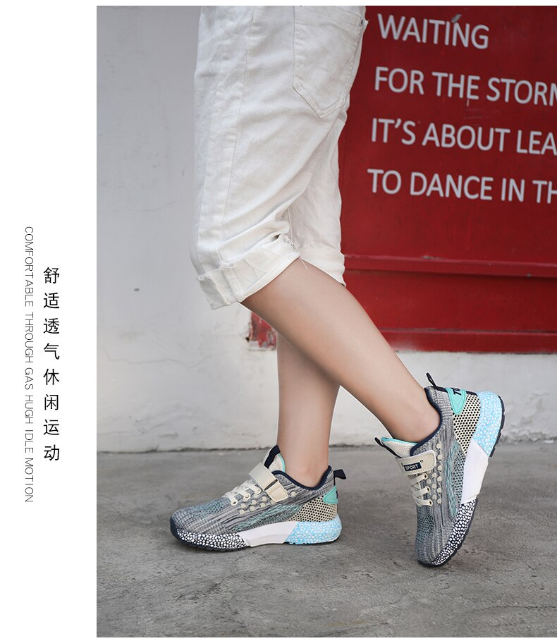 Sport Girls Boys Kids Shoes Children Sneakers Casual Boy Wear Resistant Kids Shoes for Children Outdoor Breathable Trainers 1928