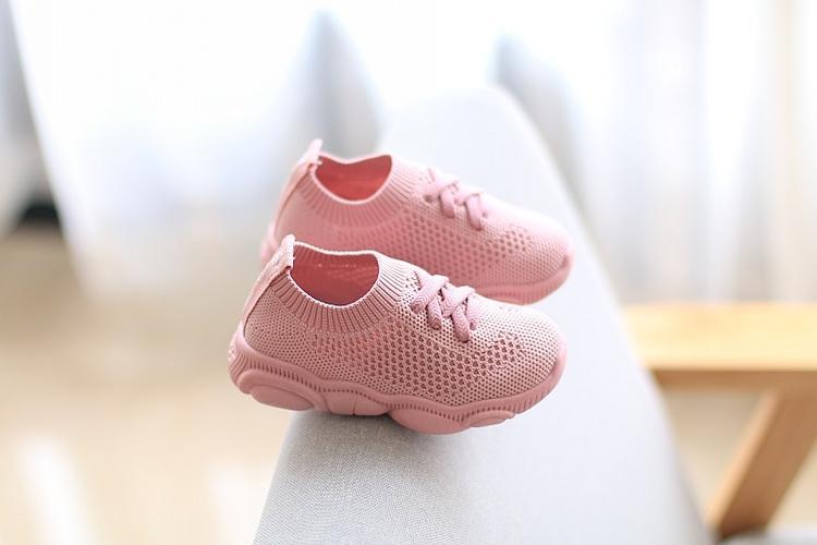 2020 New Autumn Kids Shoes Antislip Soft Bottom Baby Sneaker Sneakers Shoes Children Size Girls Boys Sports Running Mesh Shoes
