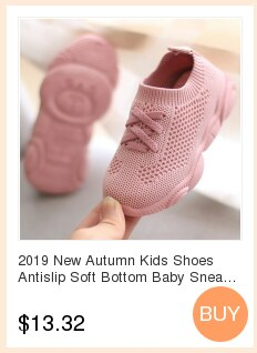 2020 New Autumn Kids Shoes Antislip Soft Bottom Baby Sneaker Sneakers Shoes Children Size Girls Boys Sports Running Mesh Shoes