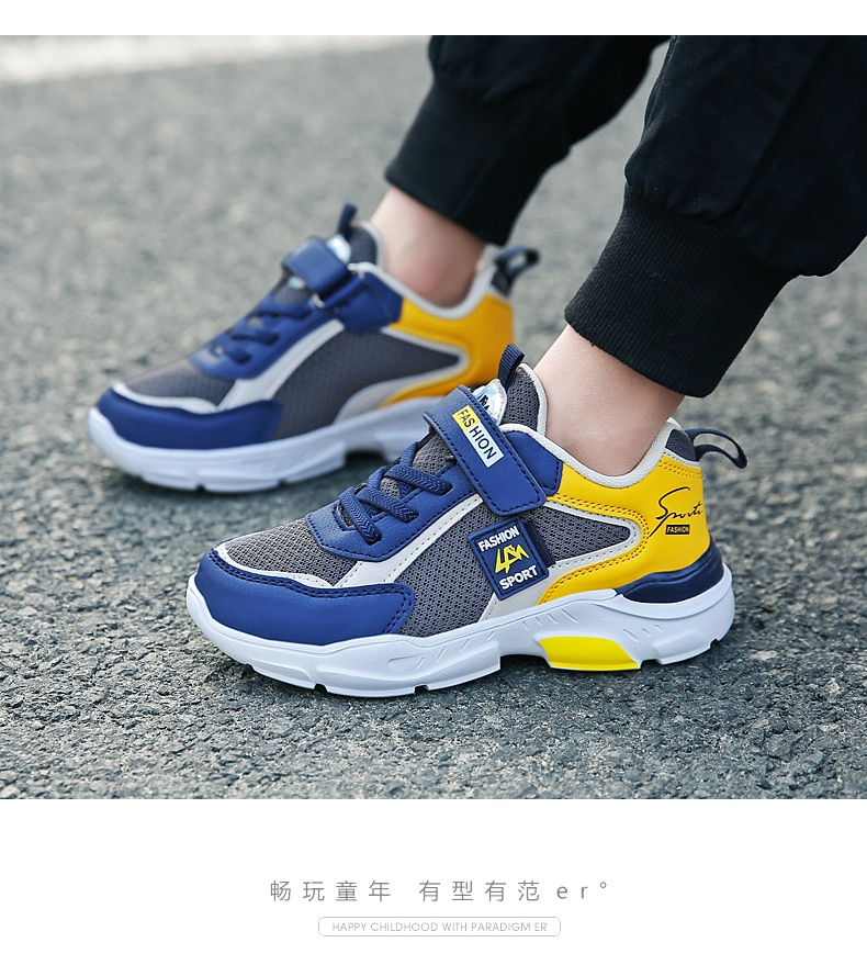 2020 Brand Children Shoes Kids Sneakers Fashion Leather Shoes Child Breathable Outdoor Sports Shoes Casual Boy Girl Shoes