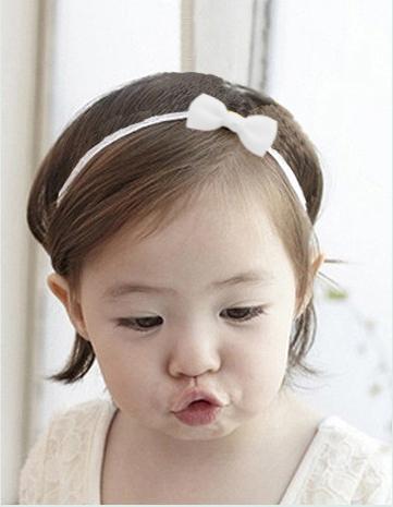1Pcs Baby Girl Headband Infant Hair Accessories Cloth Tie Bows Headwear Tiara Gift Toddlers bandage Ribbon Newborn Headwrap 706