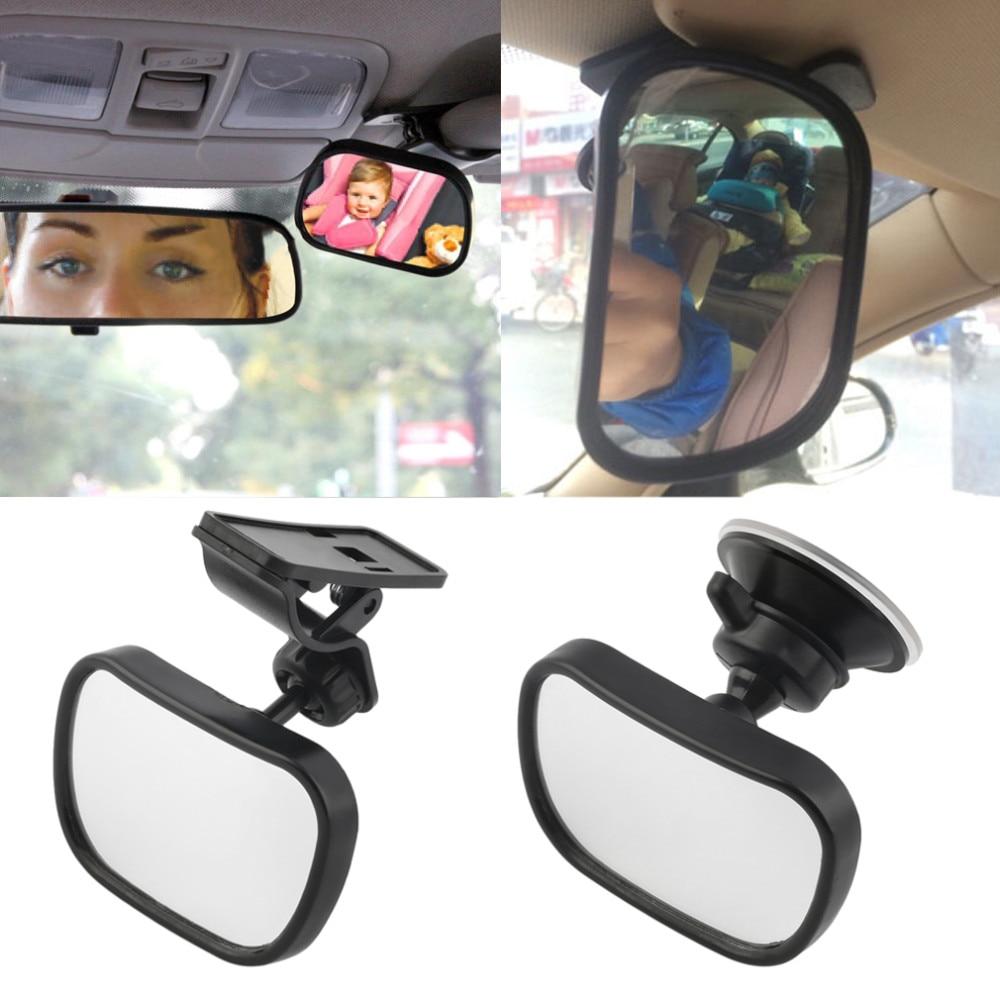Adjustable Baby Car Mirror Car Back Seat Safety View Rear Ward Facing Car Interior Baby Kids Monitor Reverse Safety Seats Mirror
