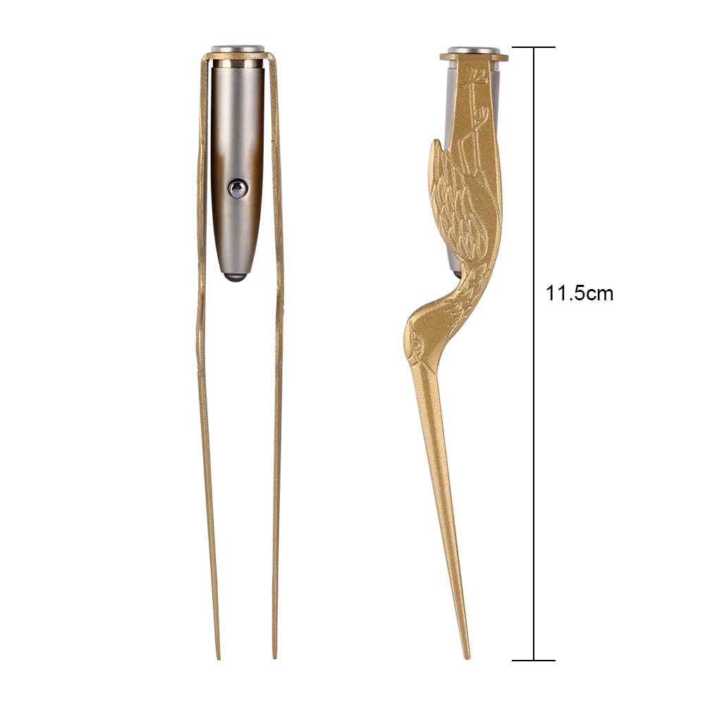 Baby Ear Cleaner Spoon LED Flash Light Ear Wax Curette Picker Visual Children Earpick Eer Wax Dig Remover Ear Nose Novel Tweezer